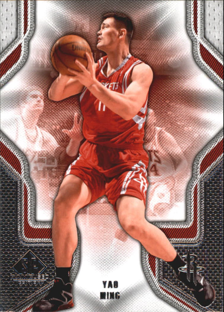 2009-10 SP Game Used #99 Yao Ming