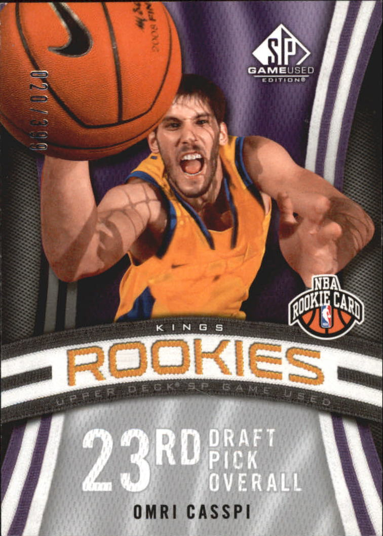 2009-10 SP Game Used #128 Omri Casspi RC