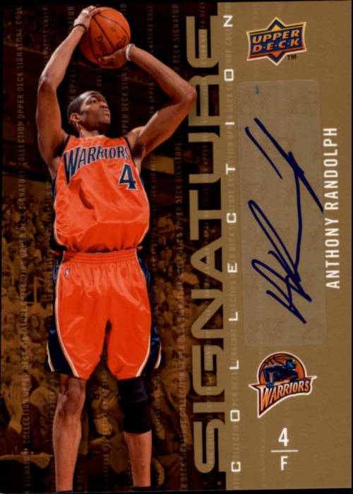 2009-10 Upper Deck Signature Collection #111 Anthony Randolph