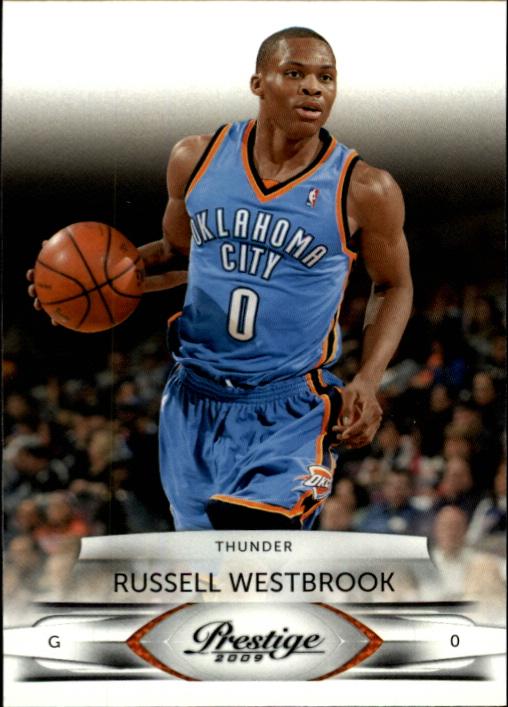 3eb6bca92a678e 2009-10 Prestige  75 Russell Westbrook