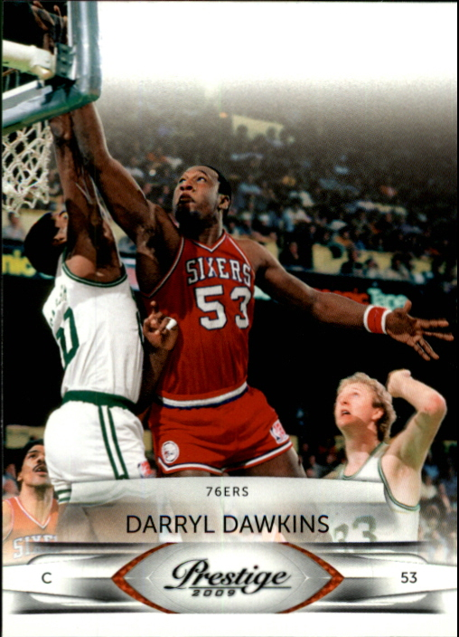 2009-10 Prestige #121 Darryl Dawkins