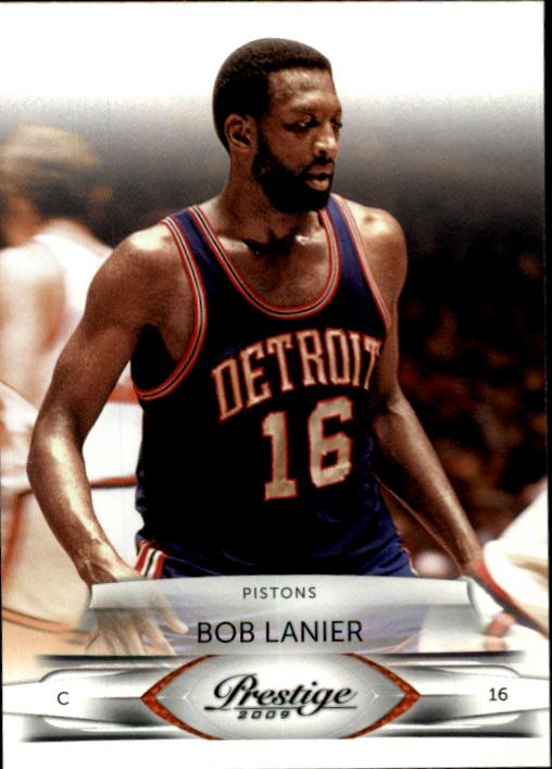 2009-10 Prestige #132 Bob Lanier