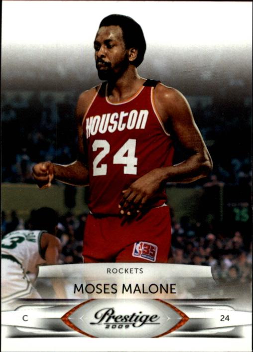2009-10 Prestige #143 Moses Malone back image