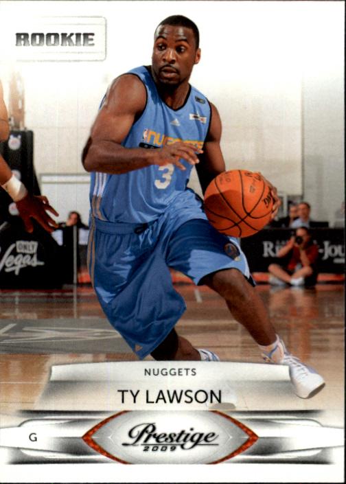 2009-10 Prestige #168 Ty Lawson RC