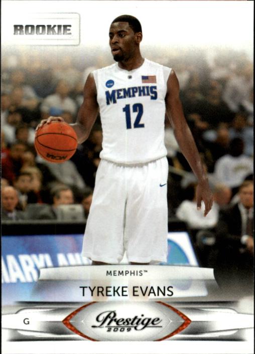 2009-10 Prestige #180 Tyreke Evans Memphis RC