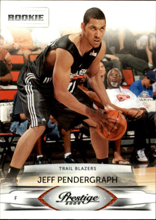 2009-10 Prestige #181 Jeff Pendergraph RC