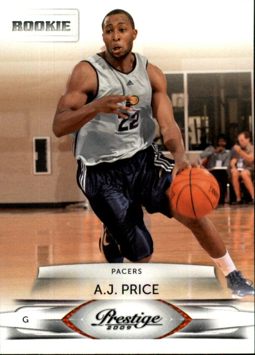 2009-10 Prestige #196 A.J. Price RC
