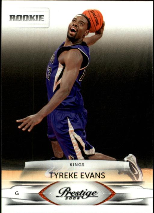 2009-10 Prestige #204 Tyreke Evans RC