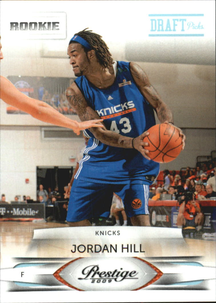 2009-10 Prestige Draft Picks Light Blue #158 Jordan Hill