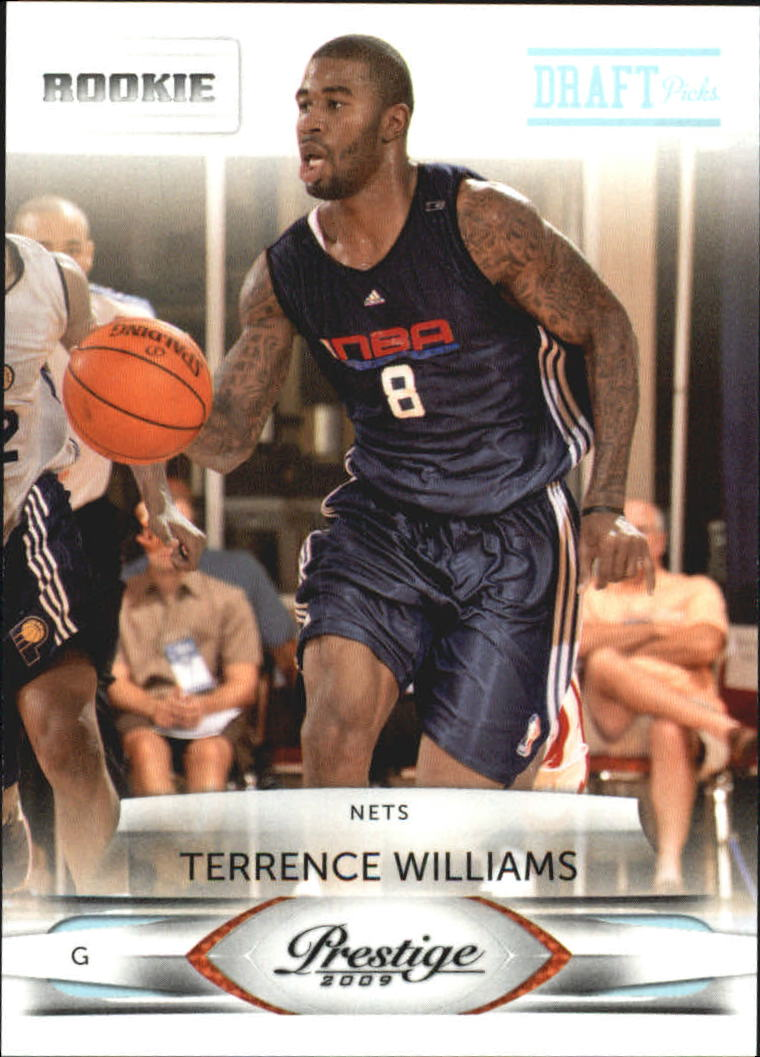 2009-10 Prestige Draft Picks Light Blue #161 Terrence Williams
