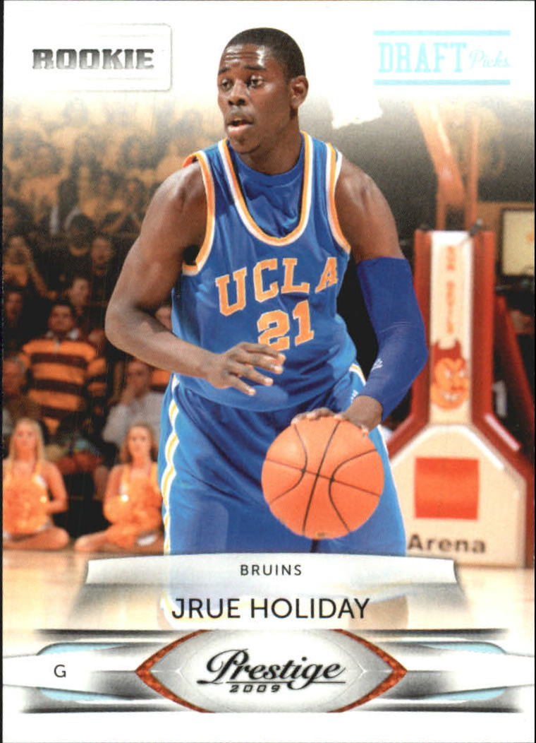 2009-10 Prestige Draft Picks Light Blue #197 Jrue Holiday