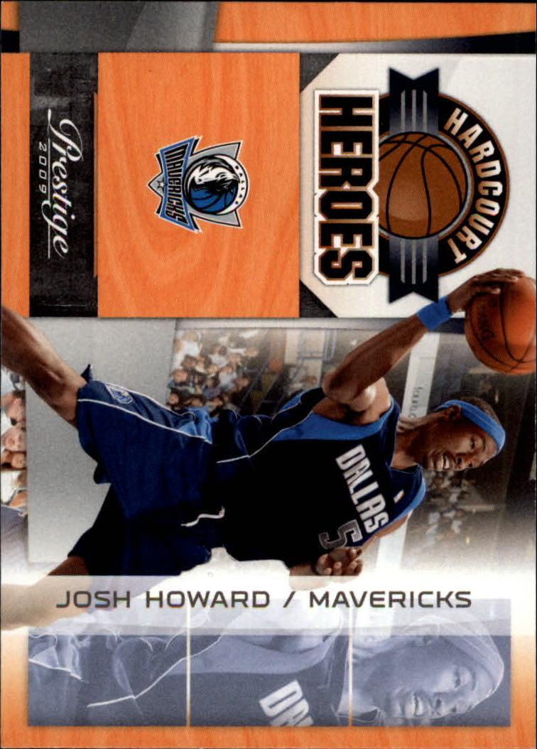 2009-10 Prestige Hardcourt Heroes #5 Josh Howard