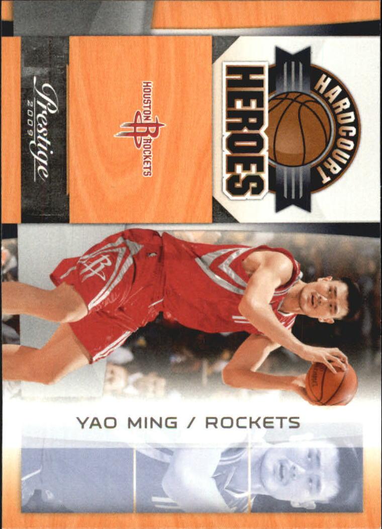 2009-10 Prestige Hardcourt Heroes #7 Yao Ming
