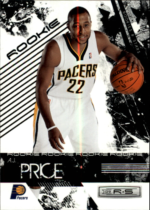 2009-10 Rookies and Stars #125 A.J. Price RC