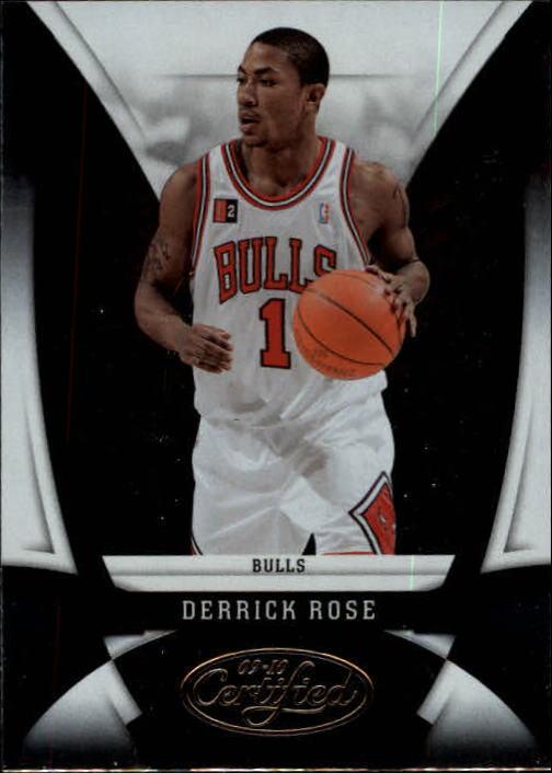 2009-10 Certified #102 Derrick Rose