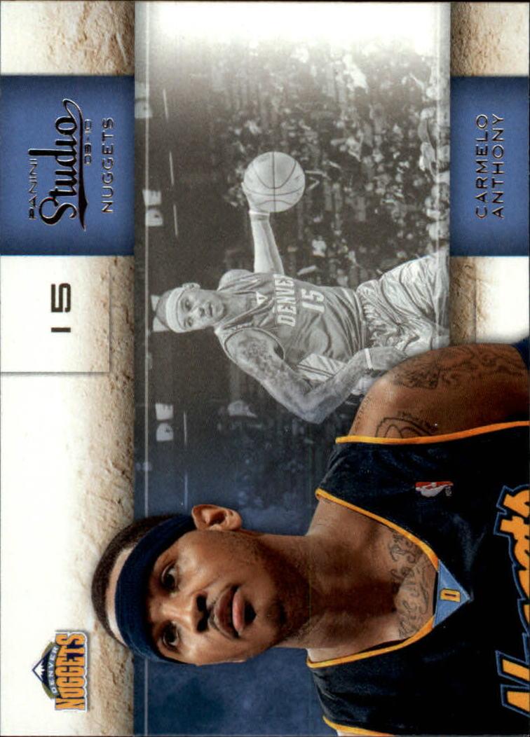 2009-10 Studio #5 Carmelo Anthony