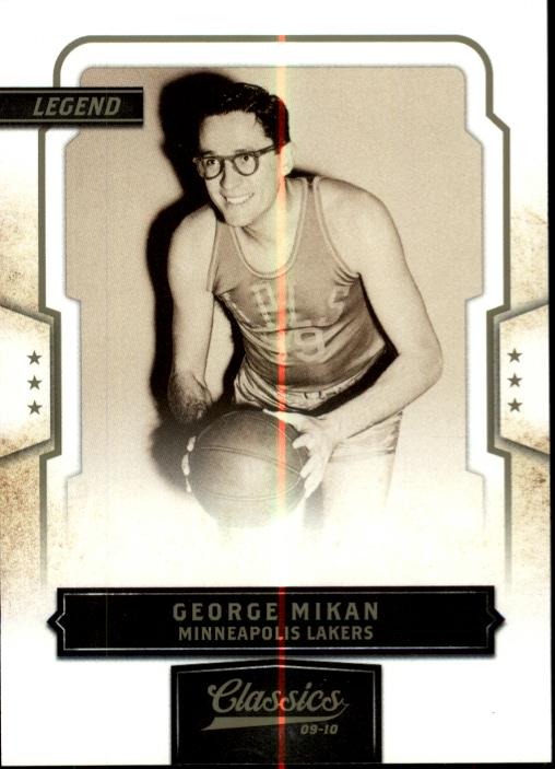 2009-10 Classics #106 George Mikan
