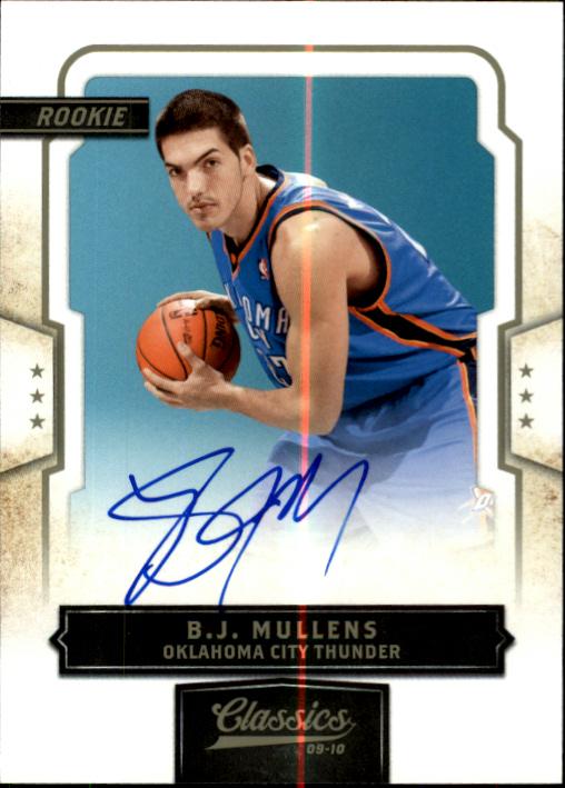2009-10 Classics #181 B.J. Mullens AU/872 RC