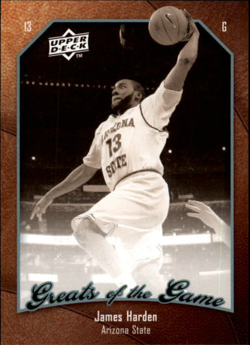 2009-10 Greats of the Game #36 James Harden RC