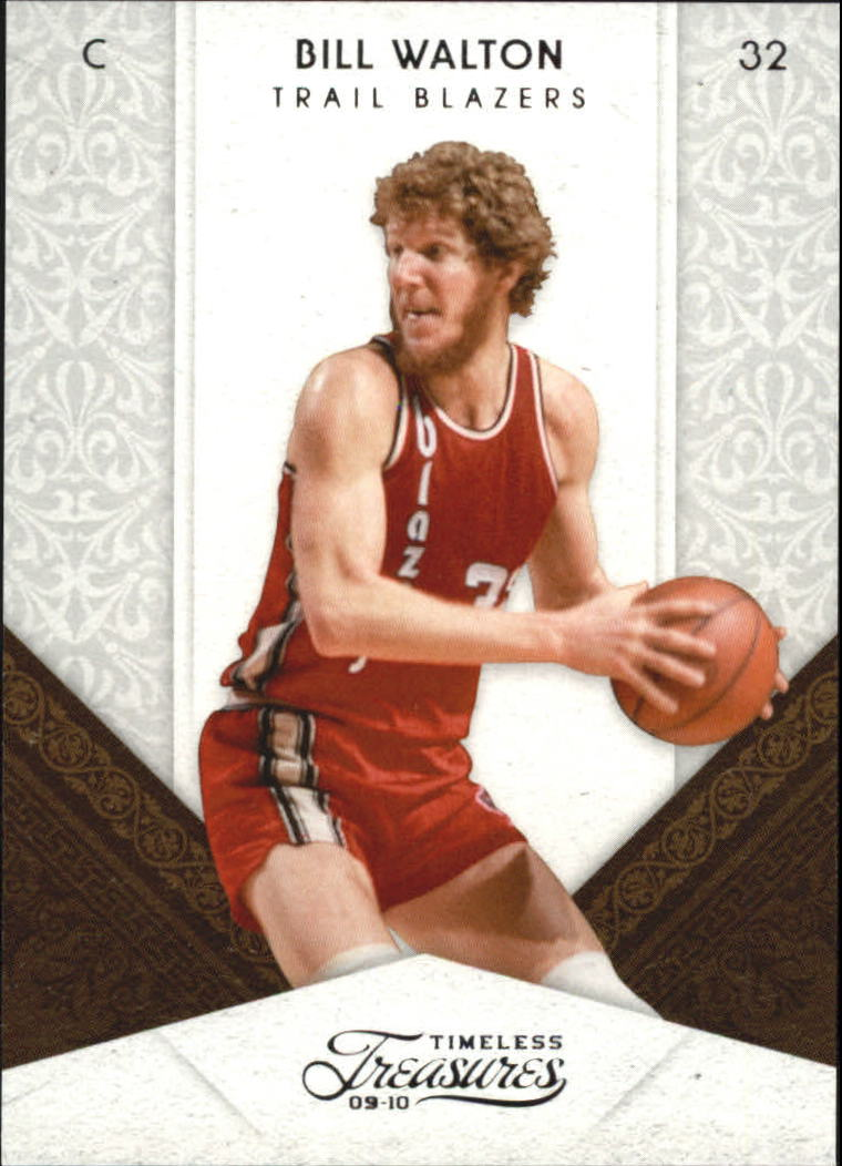 2009-10 Timeless Treasures #92 Bill Walton