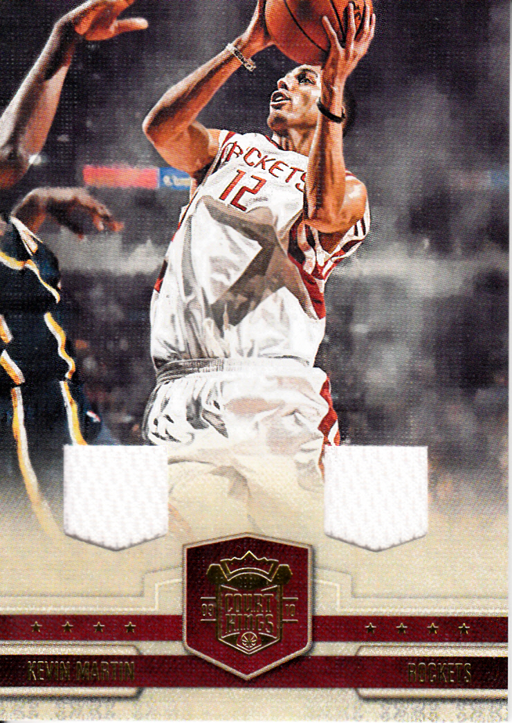 2009-10 Court Kings Materials #34 Kevin Martin/149