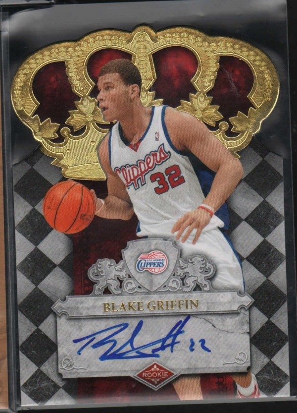 2009-10 Crown Royale #108 Blake Griffin AU/399 RC