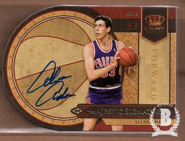 2009-10 Crown Royale Majestic Signatures #AA Alvan Adams/199