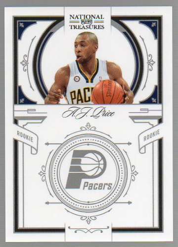 2009-10 Playoff National Treasures #190 A.J. Price RC