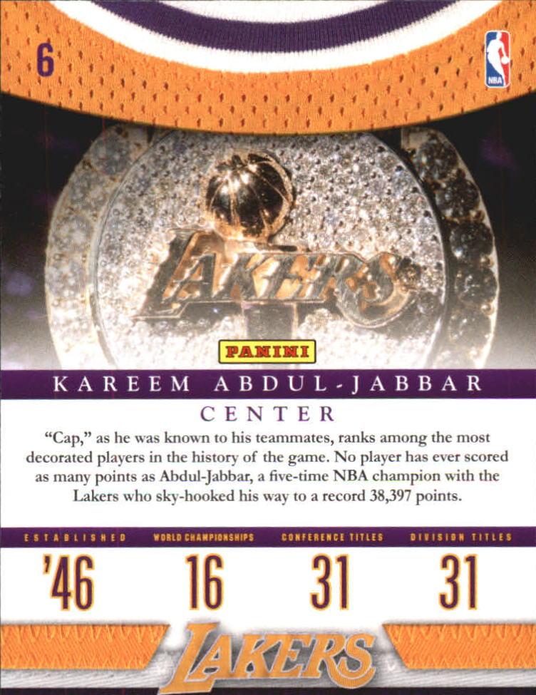 2009-10 Panini Season Update #6 Ben Gordon HL back image