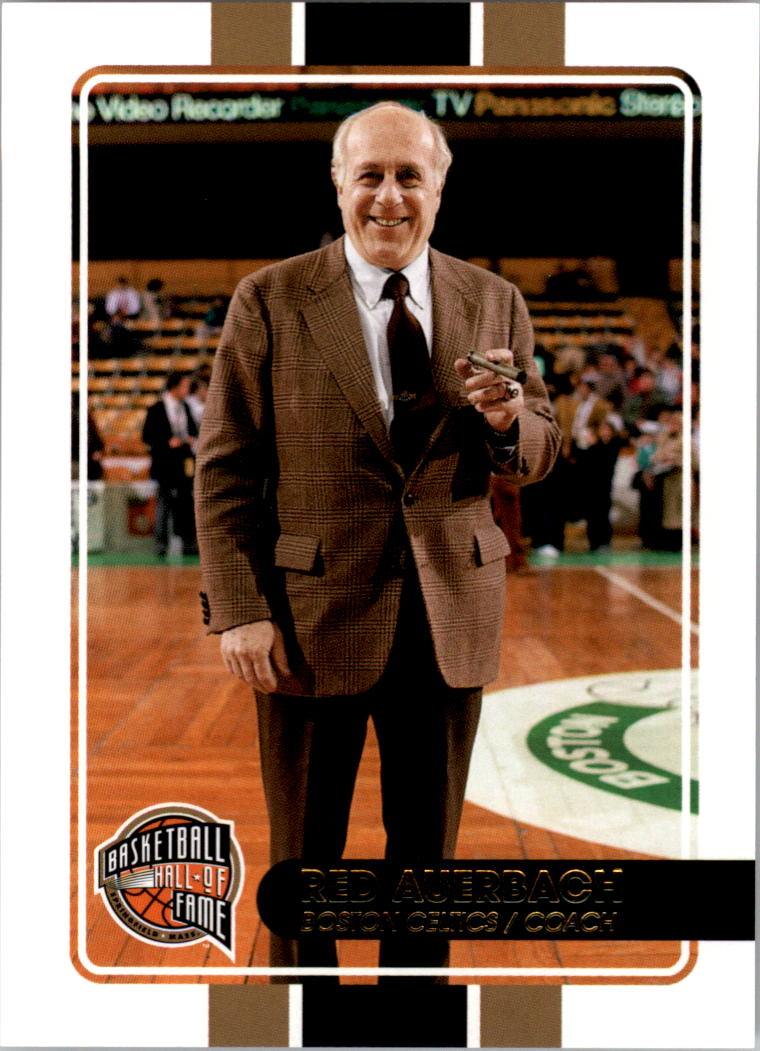 2009-10 Hall of Fame #96 Red Auerbach