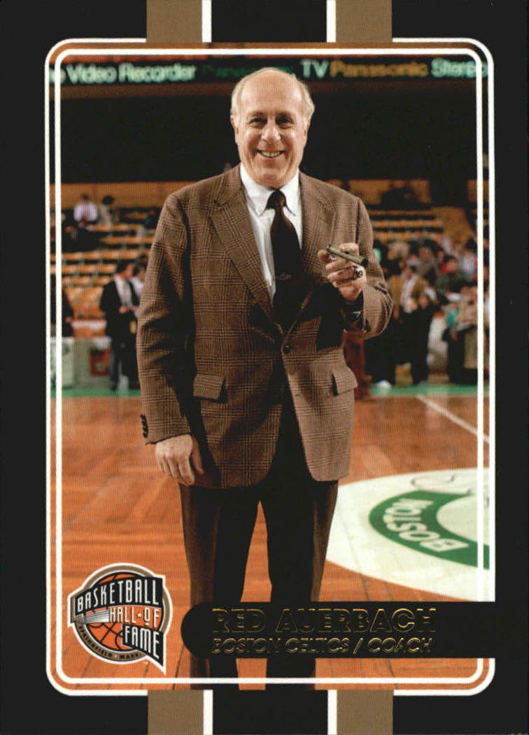 2009-10 Hall of Fame Black Border #96 Red Auerbach