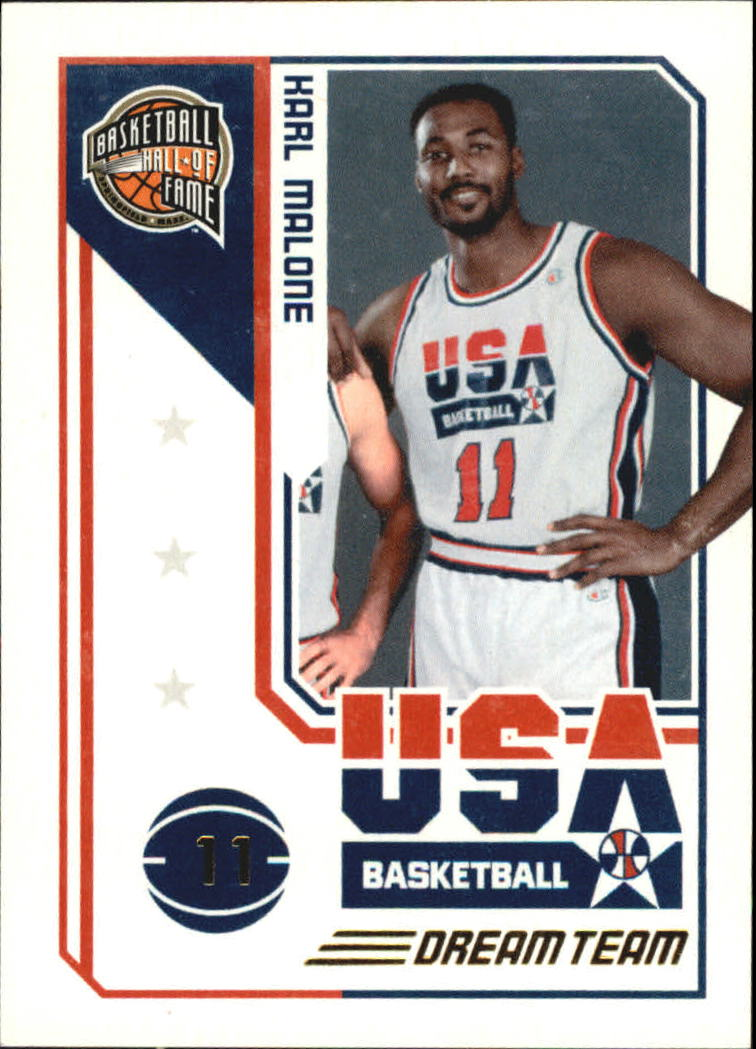 2009-10 Hall of Fame Dream Team #4 Karl Malone