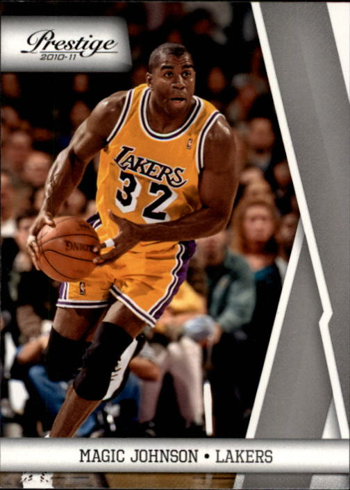 2010-11 Prestige #139 Magic Johnson