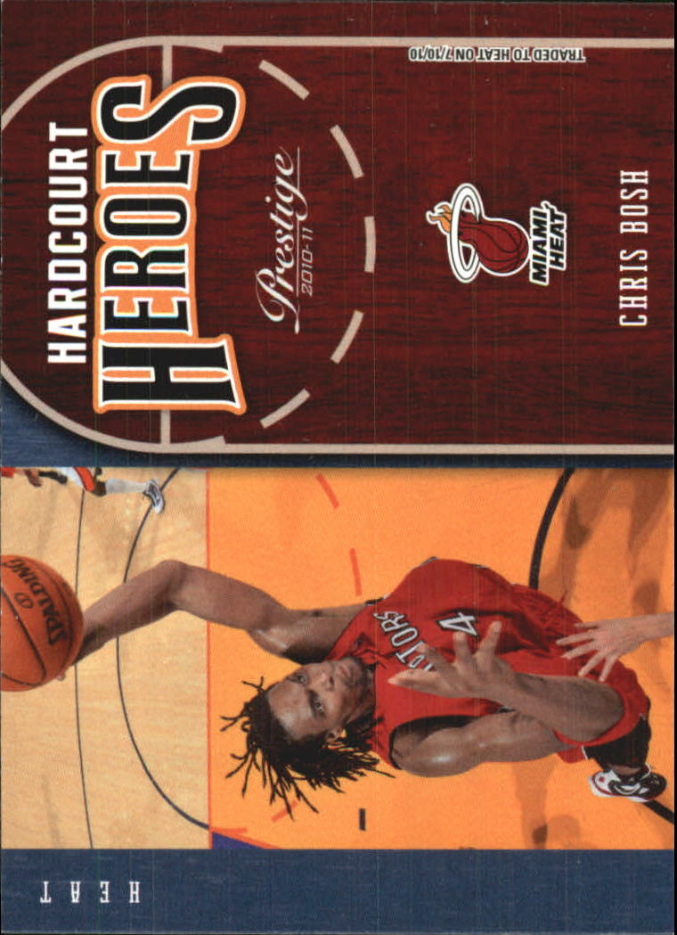 2010-11 Prestige Hardcourt Heroes #4 Chris Bosh