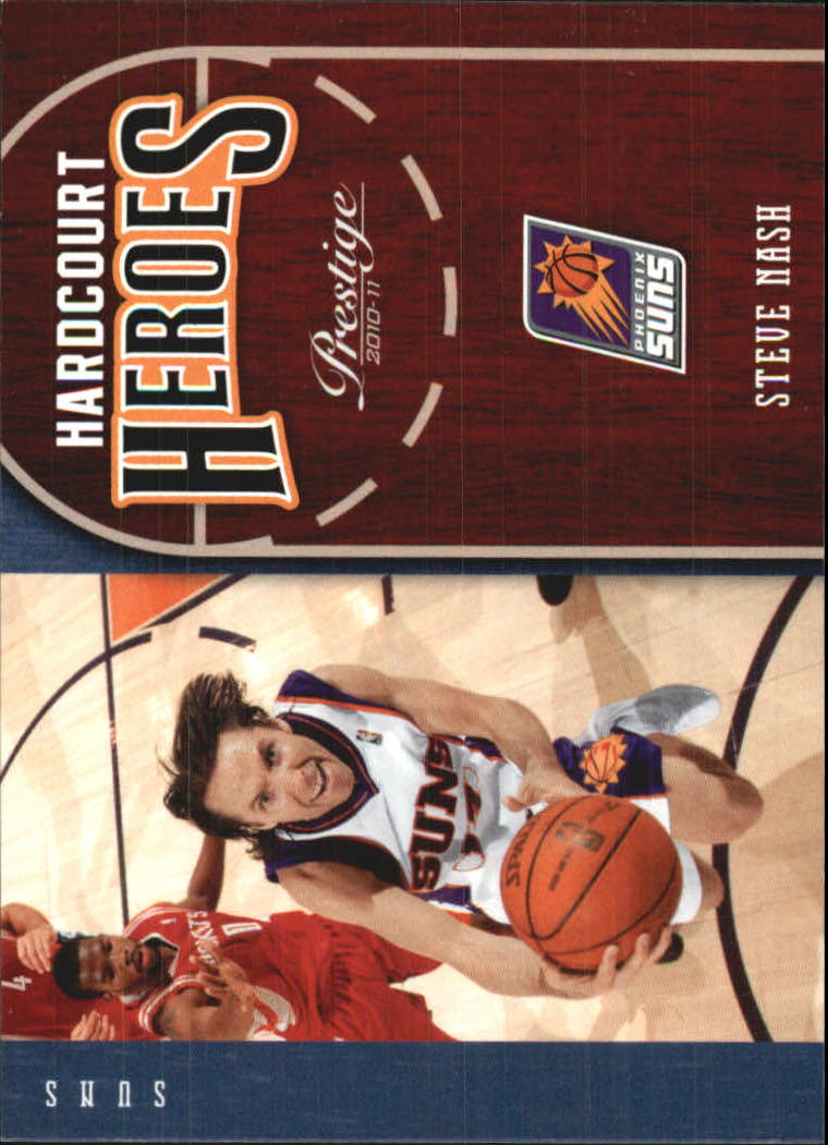 2010-11 Prestige Hardcourt Heroes #19 Steve Nash