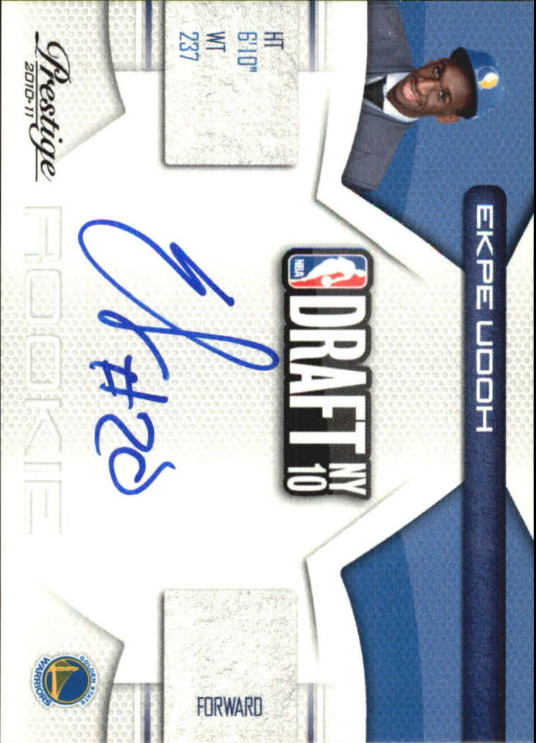 2010-11 Prestige NBA Draft Class Signatures #6 Ekpe Udoh/299