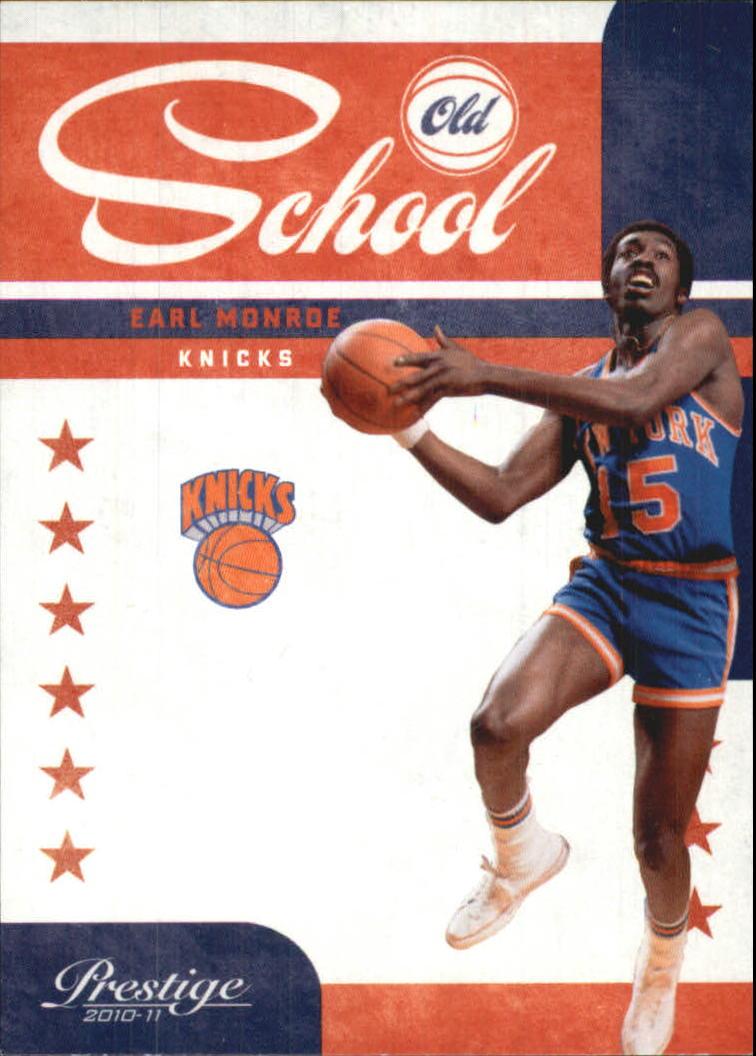 2010-11 Prestige Old School #1 Earl Monroe