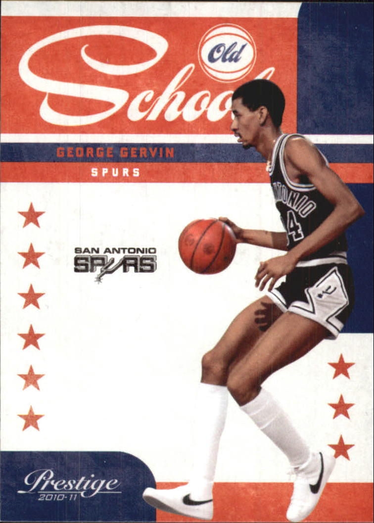 2010-11 Prestige Old School #2 George Gervin