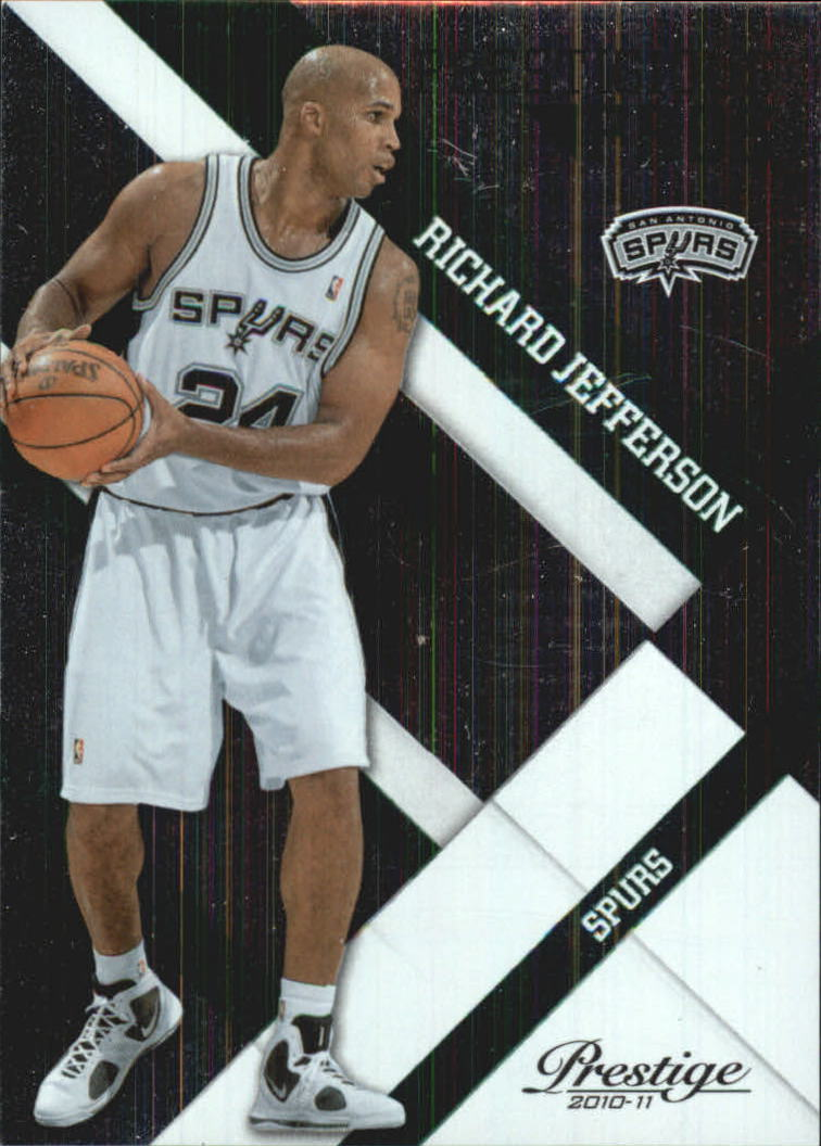 2010-11 Prestige Prestigious Pros Green #42 Richard Jefferson