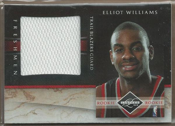2010-11 Limited Freshmen Jumbo #22 Elliot Williams