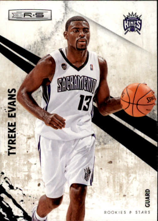 2010-11 Rookies and Stars #98 Tyreke Evans