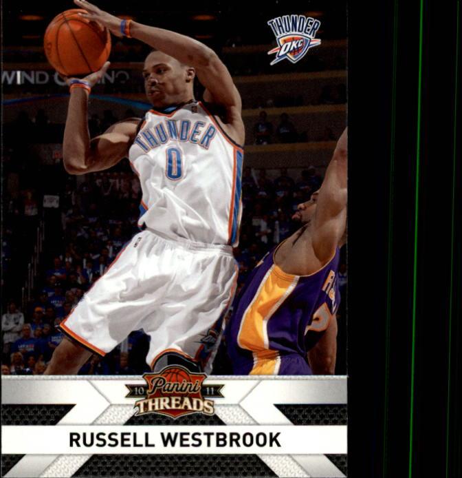f98c11747001b9 2010-11 Panini Threads  56 Russell Westbrook