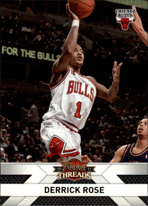 2010-11 Panini Threads #100 Derrick Rose