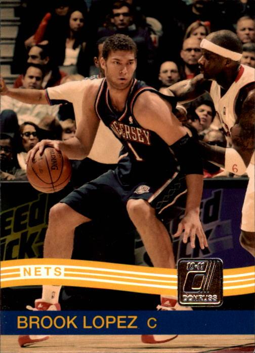 2010-11 Donruss #10 Brook Lopez