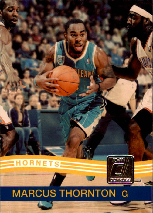 2010-11 Donruss #102 Marcus Thornton