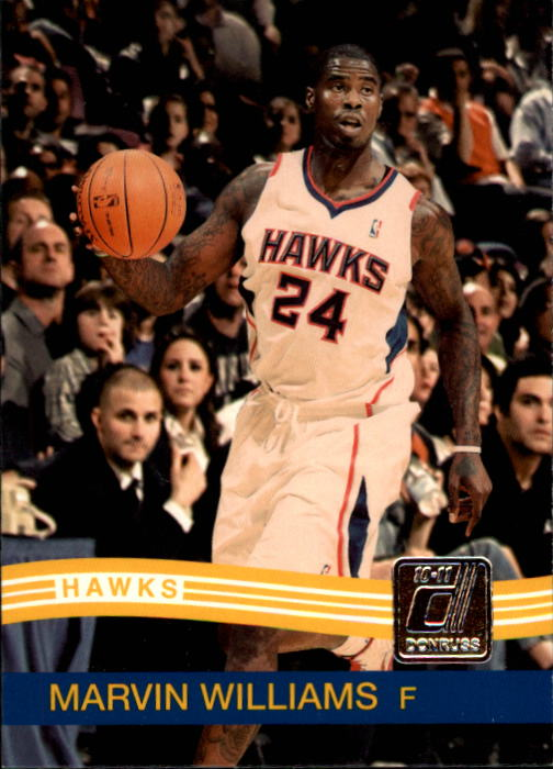 2010-11 Donruss #154 Marvin Williams
