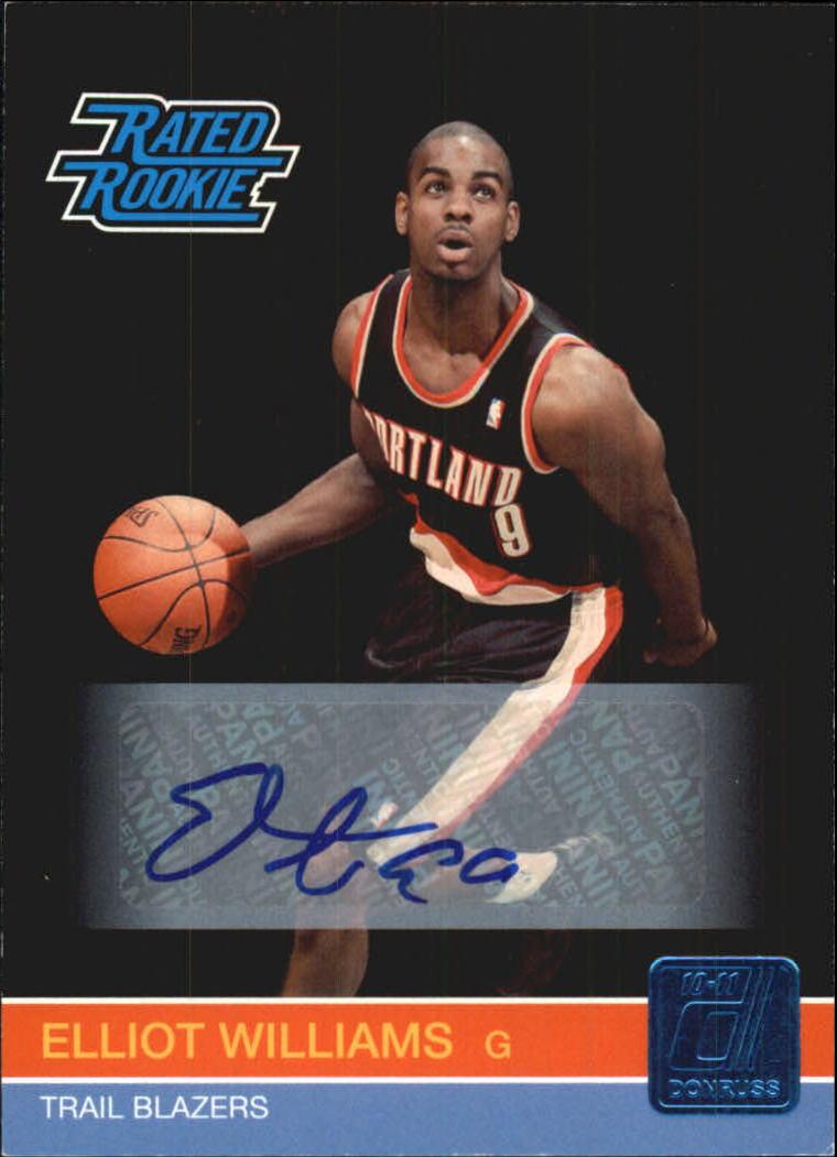 2010-11 Donruss Signatures #249 Elliot Williams/499