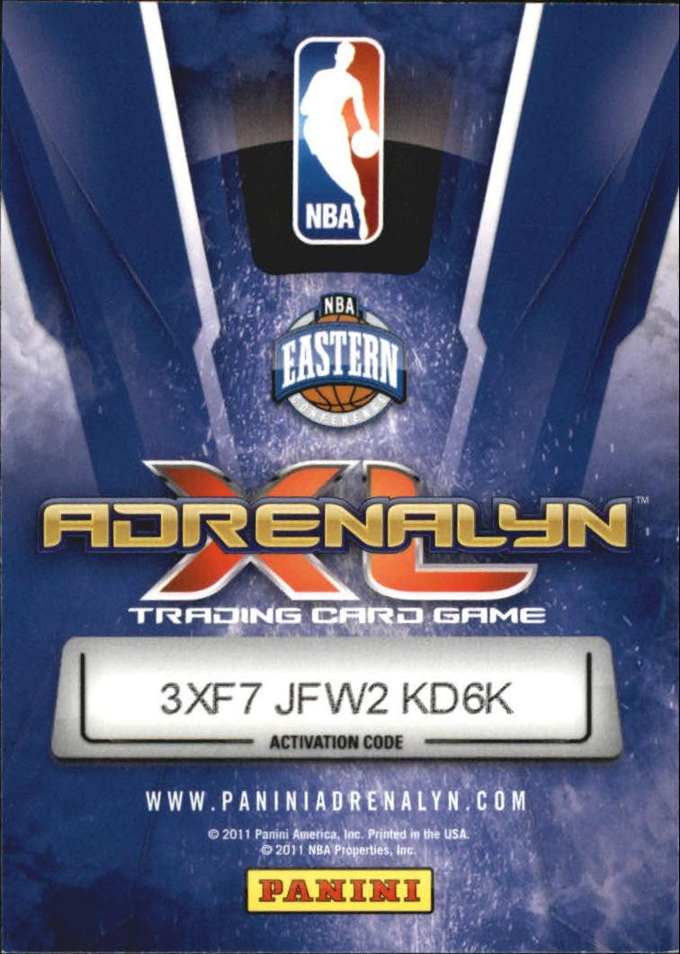 nets NBA adrenalyn xl 2011-terrence williams #168
