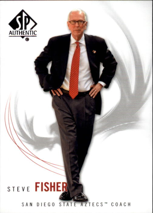 2010-11 SP Authentic #81 Steve Fisher