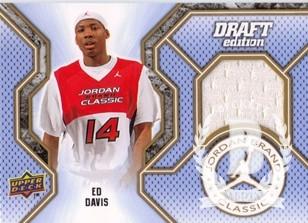 2010-11 SP Authentic Jordan Brand Classic #JCED Ed Davis